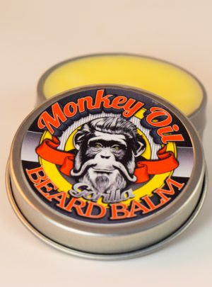 Gorilla Beard Balm–musky earth