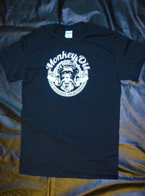 Black Monkey Oil T-Shirt- Unisex